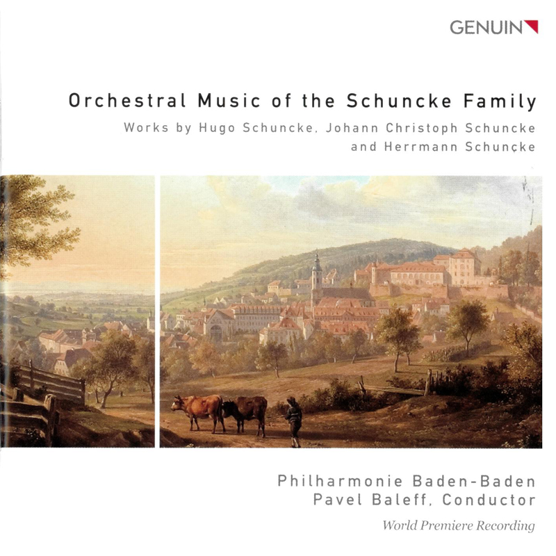 Orchestral Music of the Schuncke Family - Cover